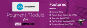 2Checkout Payment Gateway para WooCommerce