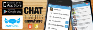 Chatwing Live Group Chat – HTML5 + Aplicaciones de chat