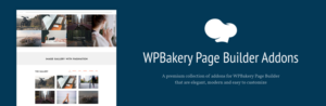 Complementos Livemesh para WPBakery Page Builder