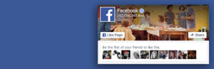 Facebook Like Box sensible, Widget de Facebook Like Box