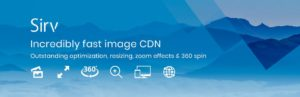 Image Optimizer, Resizer y CDN – Sirv