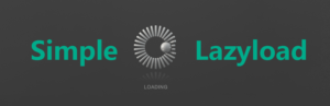 Lazyload simple