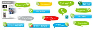 Skype Legacy Buttons