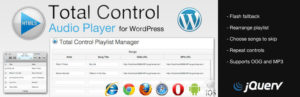 Total Control HTML5 Audio Player Basic