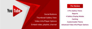 WD YouTube – Youtube Player and Gallery