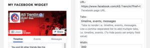 Widget de Facebook IM
