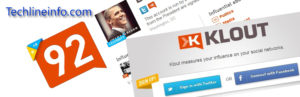 Klout Badge Plugin