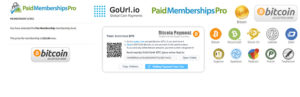 GoUrl Paid Memberships Pro – Complemento Bitcoin Payment Gateway