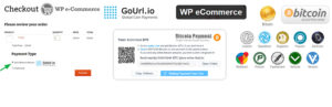 GoUrl WP eCommerce – Bitcoin Altcoin Payment Gateway Addon