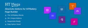HT Mega – Complementos absolutos para WPBakery Page Builder